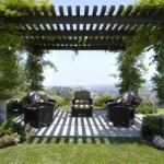 Ажурная тень для сада