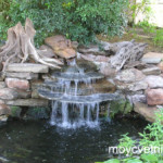 Как сделать водопад на даче?